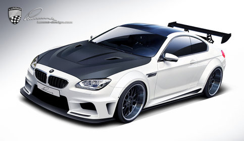 Preview: LUMMA Design veredelt den neuen BMW M6 © LUMMA-Design