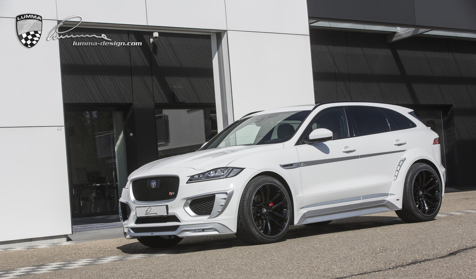Jaguar F Type R Exhaust >> LUMMA-NEWS: New Jaguar F-PACE CLR F