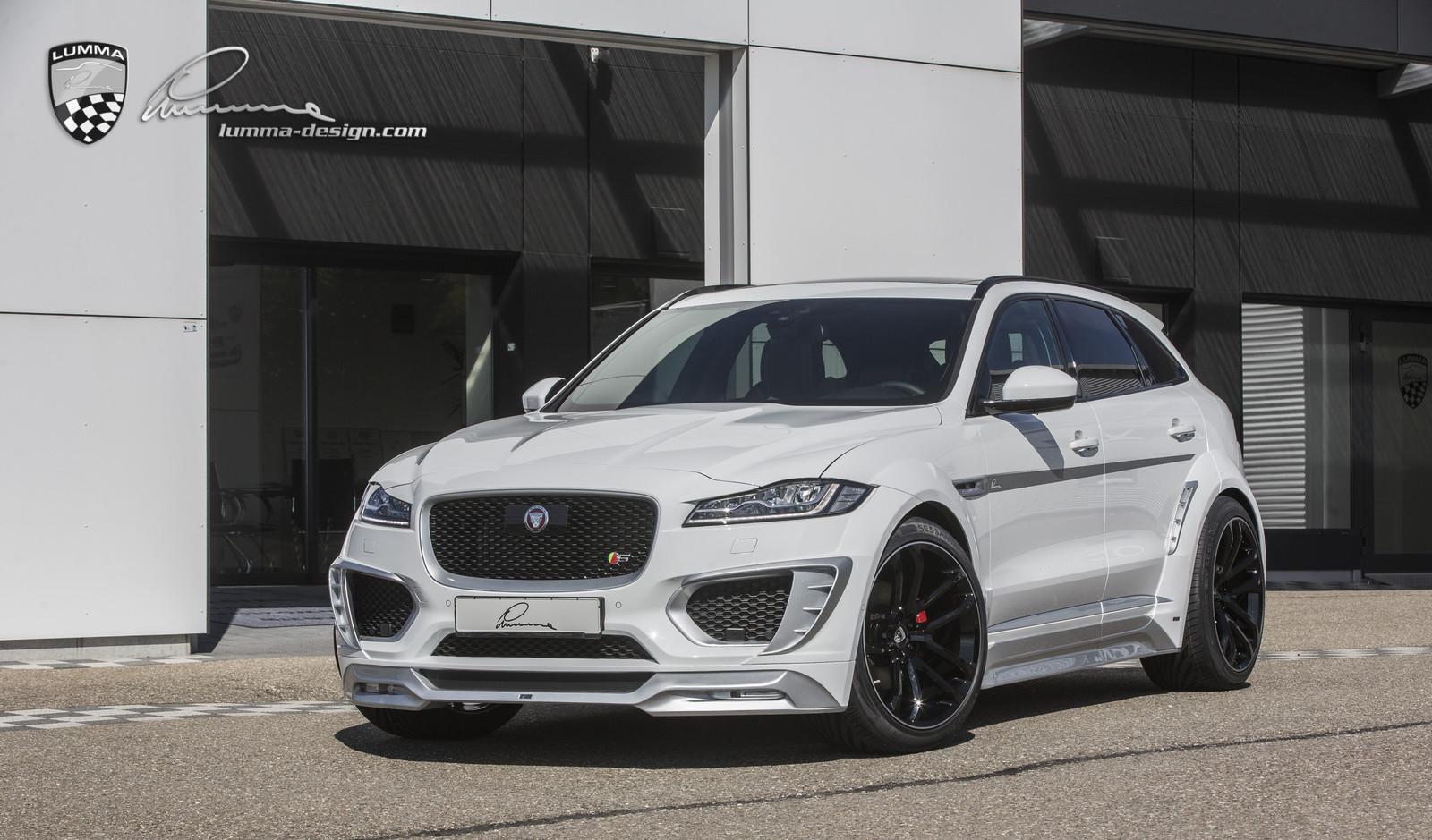 Jaguar F Type Wide Body Kit >> LUMMA-NEWS: New Jaguar F-PACE CLR F