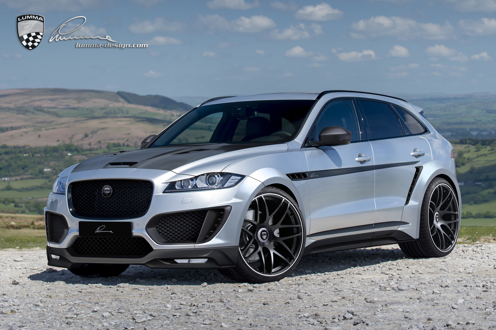 Tuning Gallery Parts For Jaguar F Pace Clr Lumma Design