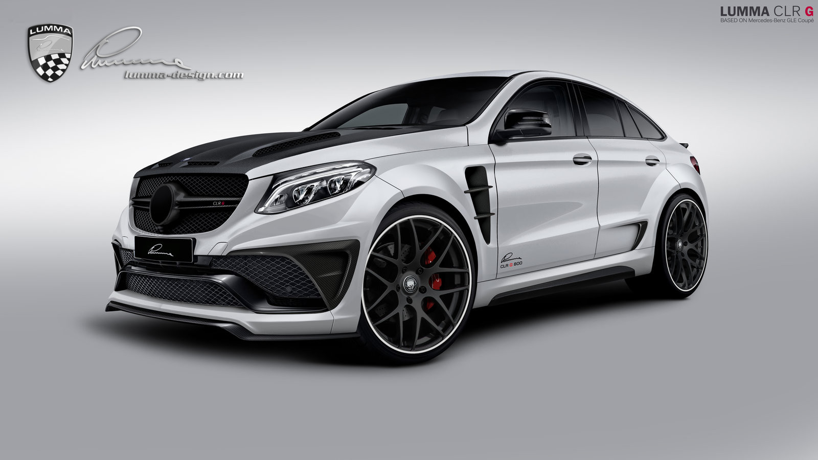 Lumma news wide body conversion for the mercedes benz gle for Mercedes benz f 750 price