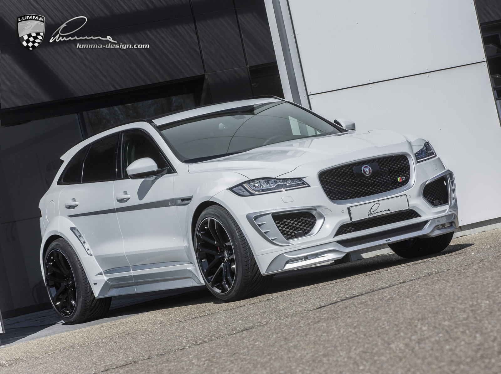 Lumma News New Jaguar F Pace Clr F