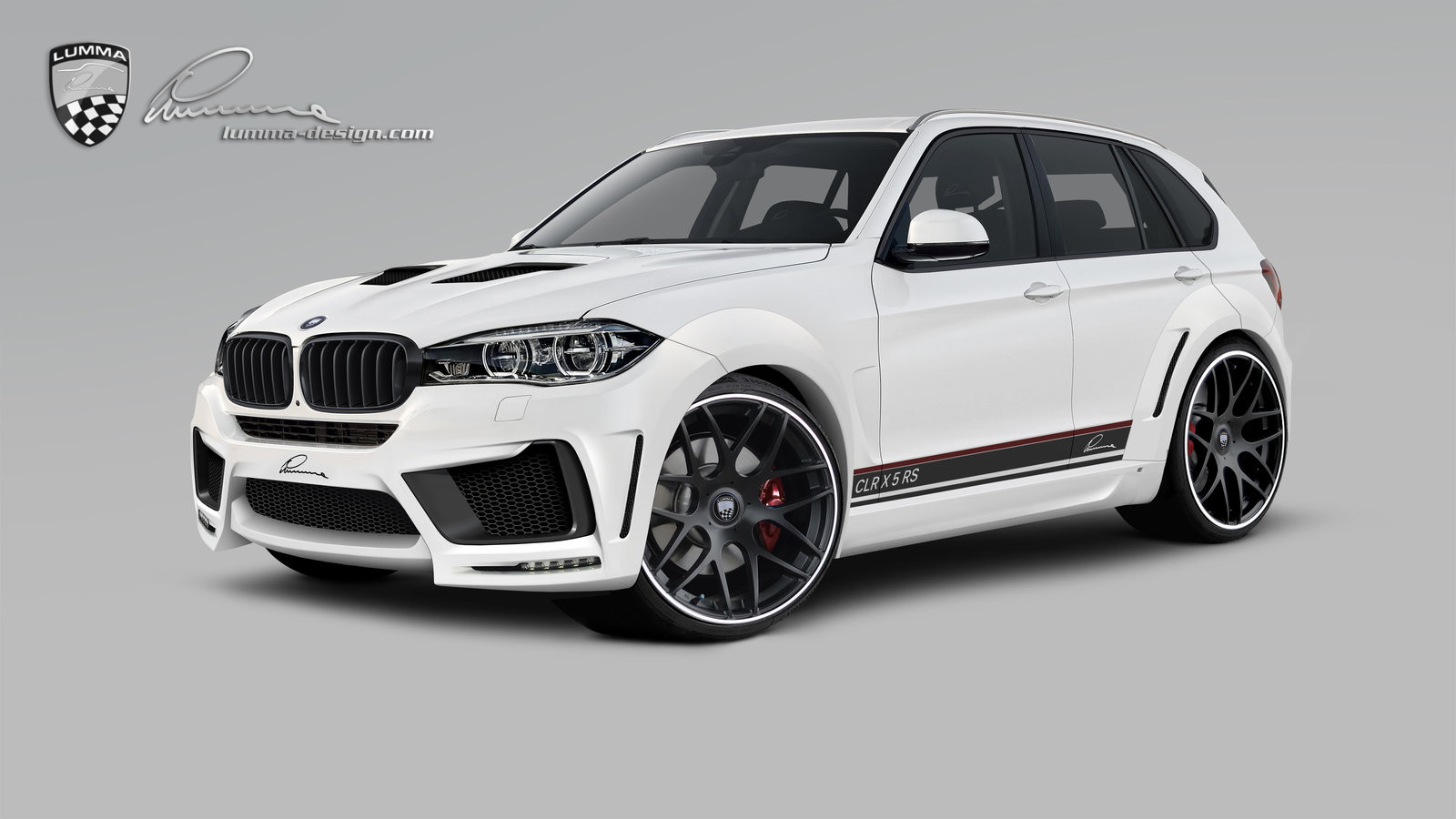 lumma news the bmw x5 in a sporty elegant custom made suit. Black Bedroom Furniture Sets. Home Design Ideas