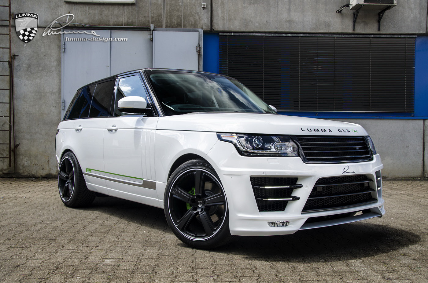 LUMMA-NEWS: CLR SR Conversion based on Range Rover Vogue