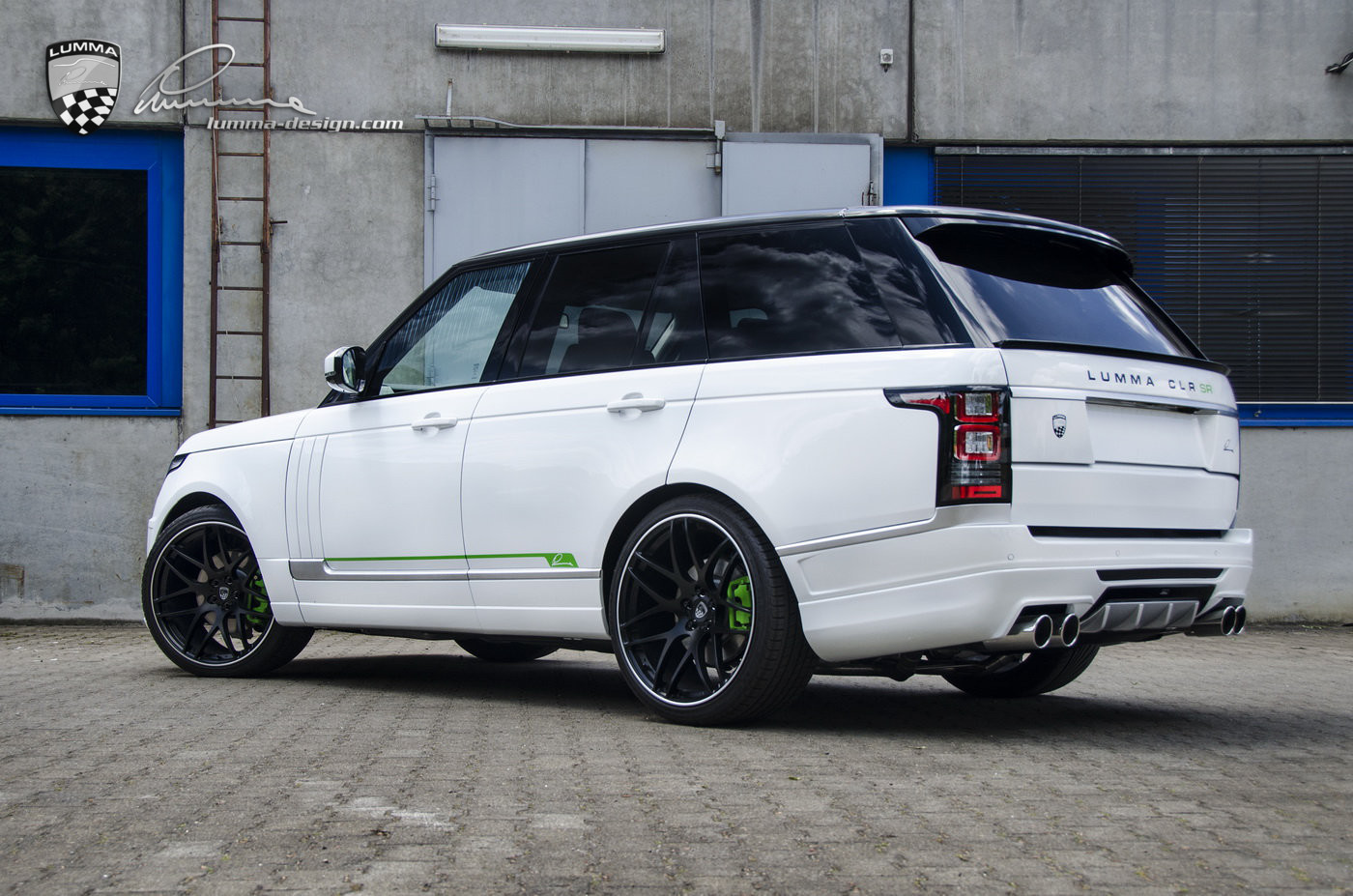 Lumma News Clr Sr Conversion Based On Range Rover Vogue