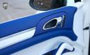 Lumma Porsche Cayenne 958 CLR 558 weiße Cayenne, blaues Interieur © LUMMA-Design